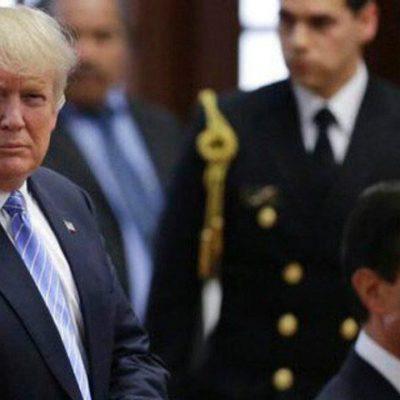 Enrique Peña Nieto en 'modo pasmado' frente a Trump | Por Raúl Caraveo Toledo