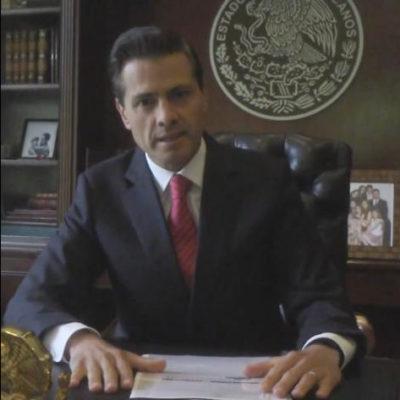 ¿LA MISMA GATA PERO REVOLCADA?: Anuncia Peña Nieto cuarto informe con cambio de formato