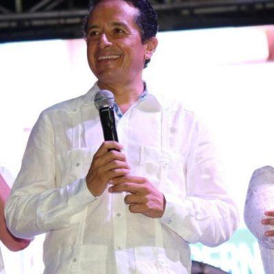 Regresa Carlos Joaquín a Playa y ofrece un gobierno cercano a la gente