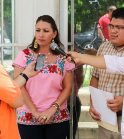 Interpone alcaldesa de Valladolid denuncia ante PGR por obras inexistentes