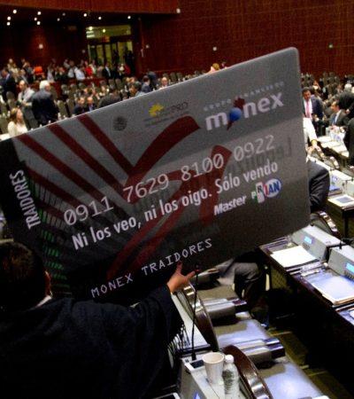 ENTIERRAN EL CASO MONEX: Da INE carpetazo a investigación sobre el uso de tarjetas en la elección presidencial del 2012