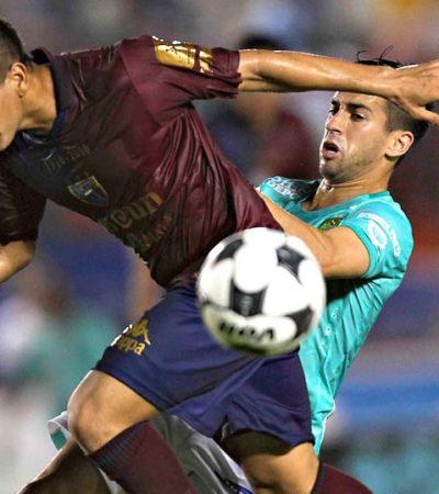 CABALGAN LOS POTROS: Derrota Atlante 3-1 al León y alcanza el subliderado de grupo en la Copa MX