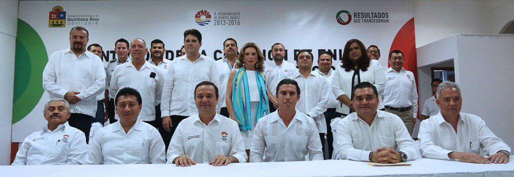 PRESENTA REMBERTO EQUIPO CON SELLO BORGISTA: Próximo Alcalde 'verde' abre la puerta de Cancún a funcionarios cuestionados y a la IP más depredadora