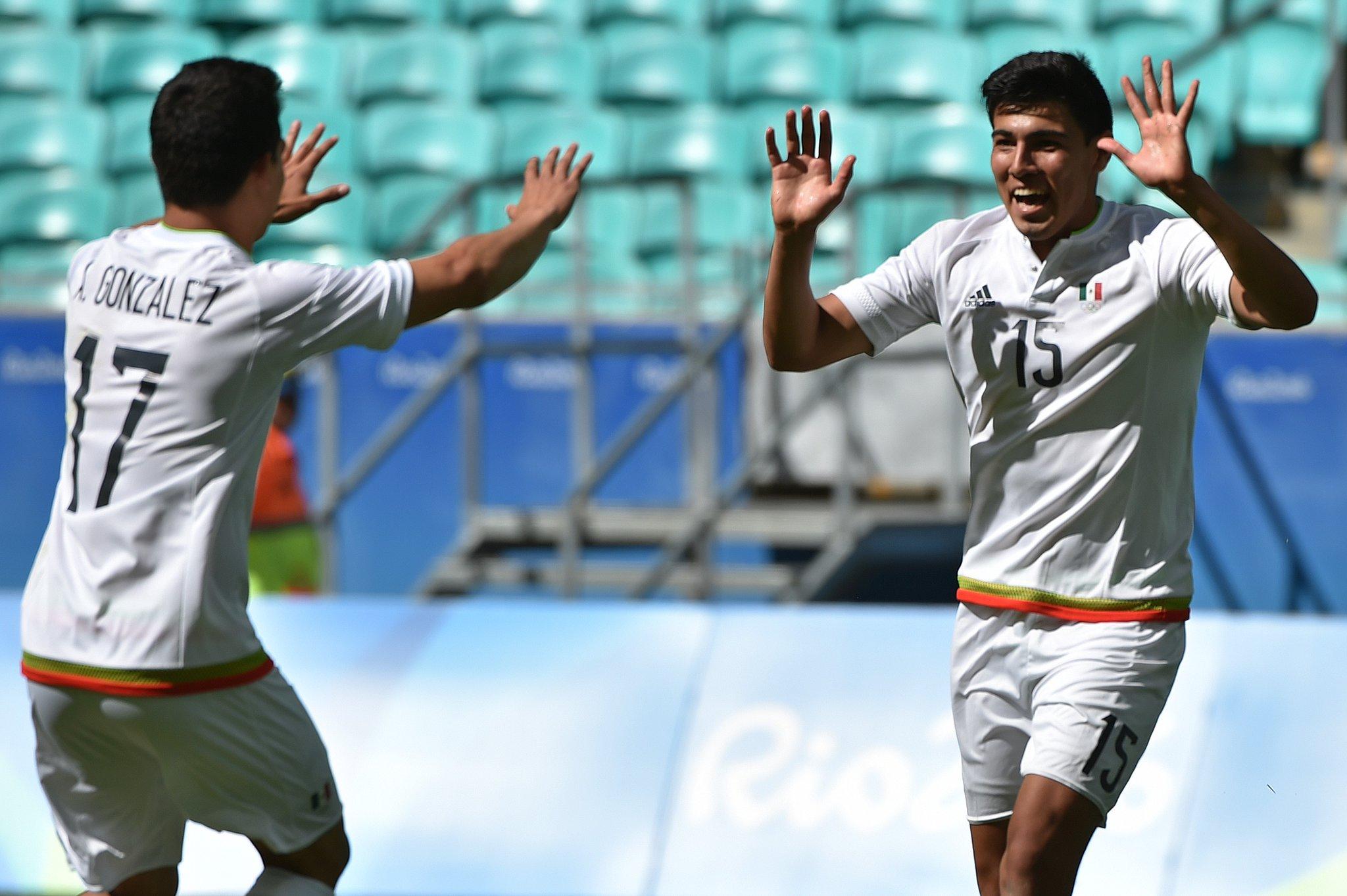SE DESQUITA MÉXICO CON FIJI: Tras un sustazo inicial, el Tri golea 5-1 a la novata selección con 4 anotaciones de Erick Gutiérrez
