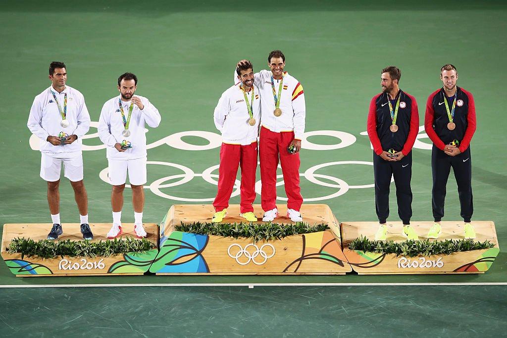 RECUPERA ESPAÑA EL BRILLO OLÍMPICO EN TENIS: Rafael Nadal y Marc López consiguen el oro en dobles