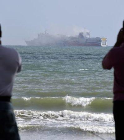 INCENDIO EN CRUCERO: Evacuan a 500 pasajeros por siniestro en embarcación frente a costas de San Juan