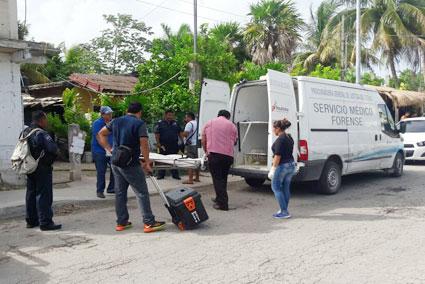 Hallan a un hombre asesinado en una cuartería de la colonia Nicte-Ha de Playa del Carmen