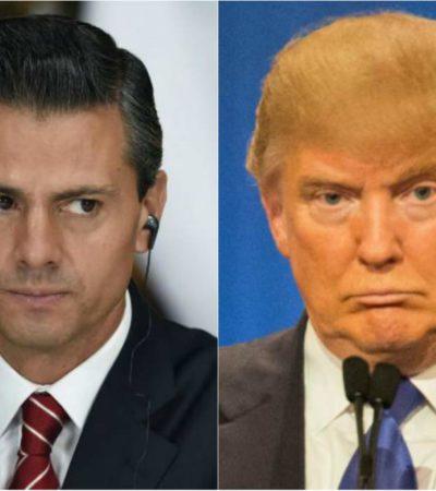 Habla Peña Nieto con Trump y acuerdan reunión antes de que asuma Presidencia de EU