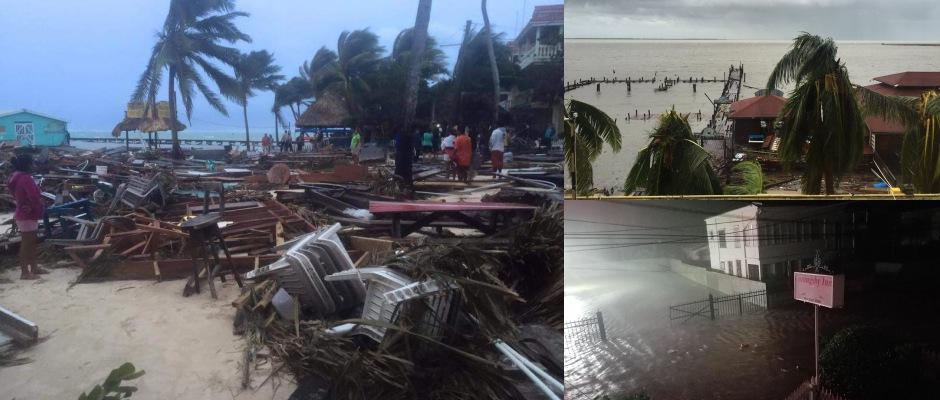 SE DEGRADA 'EARL' A TORMENTA TROPICAL: Reportan sólo daños materiales menores tras el paso del huracán al sur de Belice; Chetumal amanece en calma