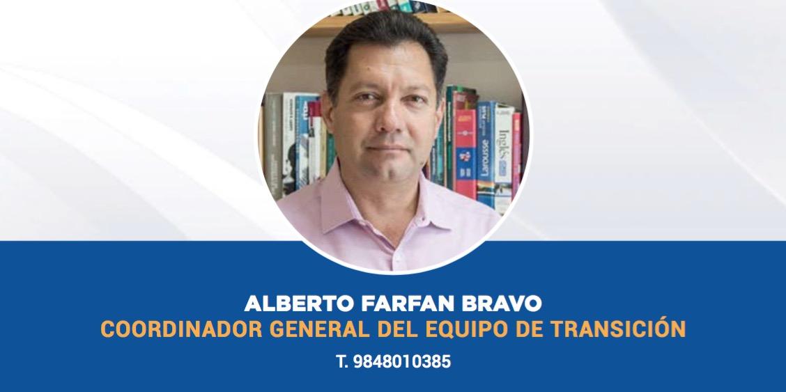 PRESENTA CRISTINA TORRES EQUIPO PARA LA TRANSICIÓN: Alberto Farfán es el coordinador general y una mujer está al frente en Seguridad Pública en Solidaridad