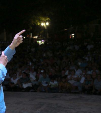 """""""SABEMOS QUE LAS EXPECTATIVAS SON ALTAS"""": Ofrece Carlos Joaquín un 'gobierno ciudadano' al retomar en Cozumel su gira de agradecimiento"""
