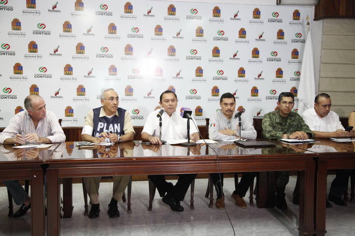 EMITE QR 'ALERTA VERDE' POR TORMENTA 'EARL': Llama Comité a tomar medidas preventivas y operativas desde Tulum a Chetumal por aproximación de ciclón