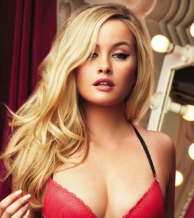 """""""UN GRITO A LOS MOJIGATOS"""": Modelo truena contra censura de un comercial de lencería Playboy"""