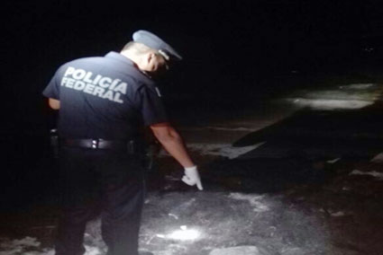 Recala paquete con 2.6 kilos de marihuana en playa de Puerto Morelos