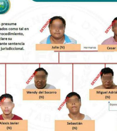 Caen en Tabasco 8 presuntos secuestradores de migrantes de Honduras y Guatemala