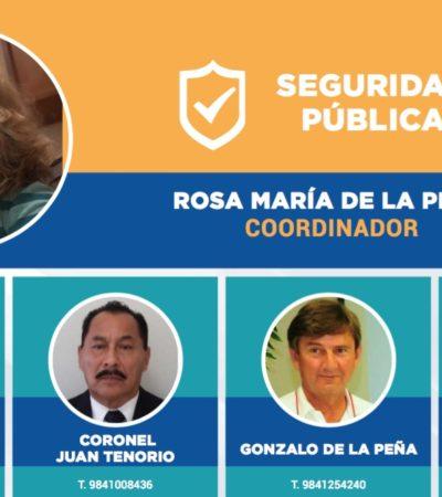 """""""BALAS DE SALVA CONTRA LA DELINCUENCIA"""": Cuestionan el perfil del equipo de transición de seguridad pública en Solidaridad"""