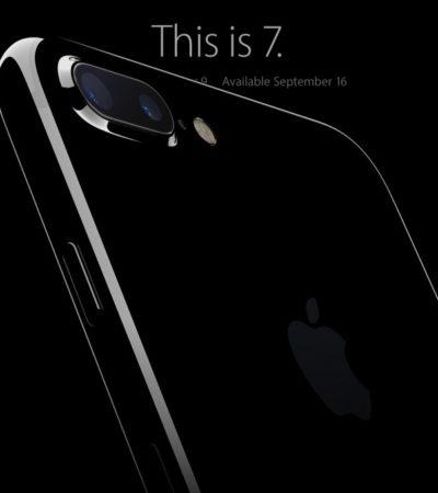 NO SERÁ BARATO, PERO PROMETE SER EL MEJOR: Presentan el iPhone 7 con poderosa cámara, más rápido, resistente al agua y con auriculares sin cables