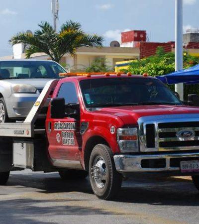 Por costos excesivos, Tránsito deja fuera de servicio a Grúas Cardona