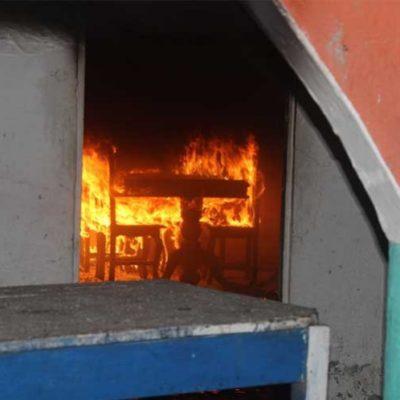 LINCHAMIENTO EN TABASCO: Turba quema vivo a presunto delincuente en Centla