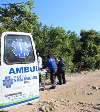 Hallan a una joven tirada y presuntamente violada en Cozumel