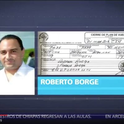 Balconean a Borge, oootra vez en Televisa, por millonarios gastos en aerolínea a su servicio
