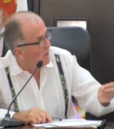 EN VIVO   COMPARECE TITULAR DE SEGURIDAD PÚBLICA: Diputados le piden cuentas a Juan Pedro Mercader