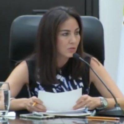 SE AMPARA OTRA BORGISTA: Claudia Romanillos, ex titular del IPAE, teme ser detenida por el remate ilegal de predios públicos