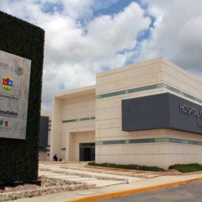 Entregarán inconcluso el nuevo edificio del Hospital General en Cancún