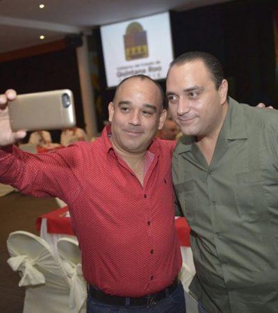 PREMIA BORGE A ALBERTO MILLAR: A través del IPAE, titula Gobernador a director de revista terreno invadido en zona de sascaberas de Cancún