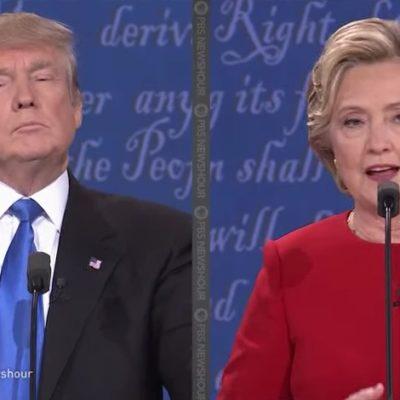 GANA CLINTON DEBATE A TRUMP: Candidata demócrata se ve más presidencial que el polémico empresario en primer choque en TV