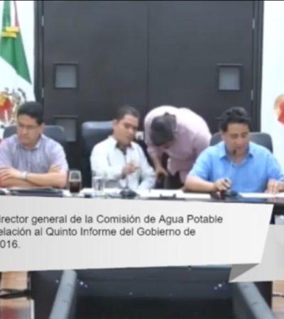 COMPARECENCIA DEL DIRECTOR DE CAPA EN EL CONGRESO: ¿Pedirán cuentas por concesión del agua a Aguakán?