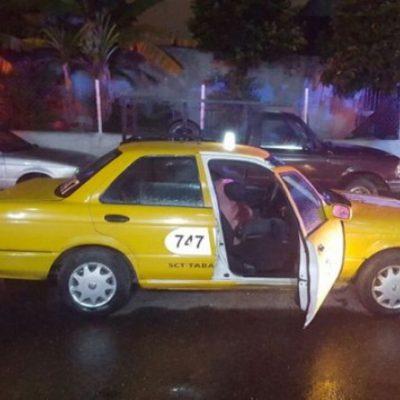 Ejecutan a taxista en Villahermosa y su hermana muere de un infarto al enterarse