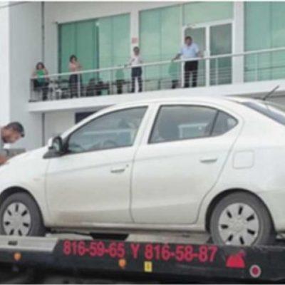SE LA TOMAN EN SERIO CONTRA UBER EN CAMPECHE: Detienen 7 autos y suman más de un millón de pesos en multas
