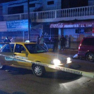 INSEGURIDAD EN TABASCO: Asesinan a un taxista por oponerse a un robo en Villahermosa