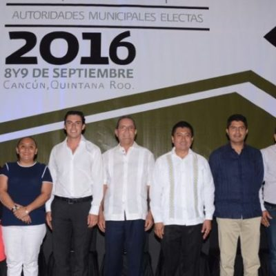 CAMBIO DE ALCALDES, EN PUERTA: Programa de la toma de protestas de los 11 nuevos presidentes municipales de QR; Carlos asistirá a todas
