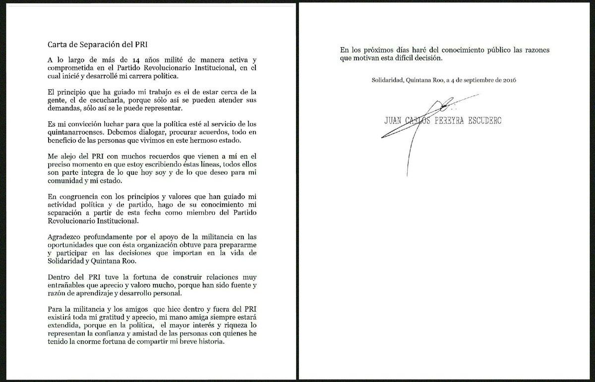 PIERDE PRI OTRO DIPUTADO: Juan Carlos Pereyra anuncia su renuncia al tricolor y se declara 'independiente' un día después de arribar al Congreso