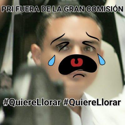 """""""QUIERE LLORAR, QUIERE LLORAR"""": Los imperdibles 'memes' de la 'planchada' histórica al PRI-PVEM en el Congreso de QR"""