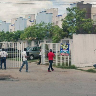 ASESINAN A VENDEDOR EN CANCÚN: Hallan cadáver de hombre ensabanado en su propia casa en el fraccionamiento Los Héroes