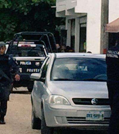BALEAN A HOMBRE EN CANCÚN: Empistolados disparan contra albañil en la Región 211 y dejan narcomensaje contra policías