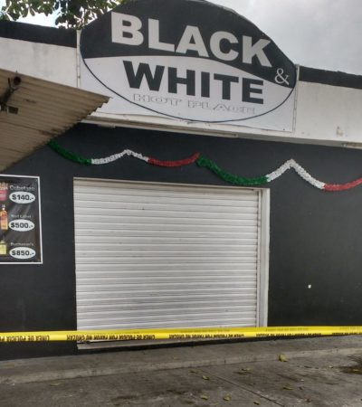 PRIMEROS 4 EJECUTADOS DEL SEXENIO: Matan a 2 hombres en Cancún, uno en Puerto Aventuras y otro más en la Ribera del Río Hondo