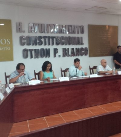 PRIMEROS NOMBRAMIENTOS EN CHETUMAL: Designa Luis Torres al perredista Roger Peraza como nuevo secretario del Ayuntamiento de OPB