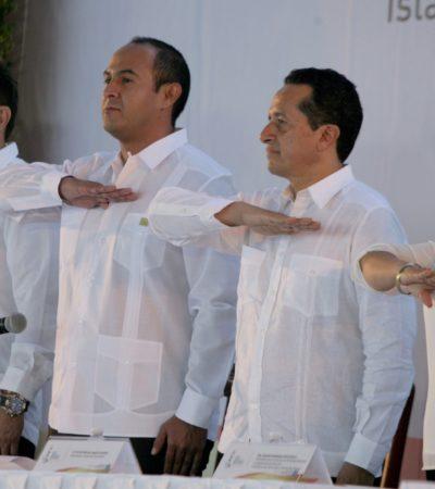 SE GRADÚA 'PORRO' PRIISTA COMO ALCALDE: Juan Carrillo, el único borgista que ganó su elección, rinde protesta como presidente de Isla Mujeres