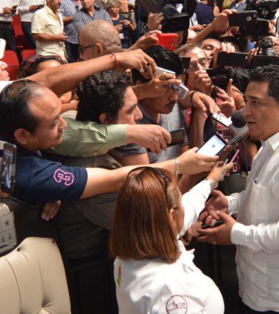 CASTIGARÁ CONGRESO DESVÍOS DEL ERARIO: Anticipa Eduardo Martínez paquete de iniciativas para revisar cuentas públicas en QR