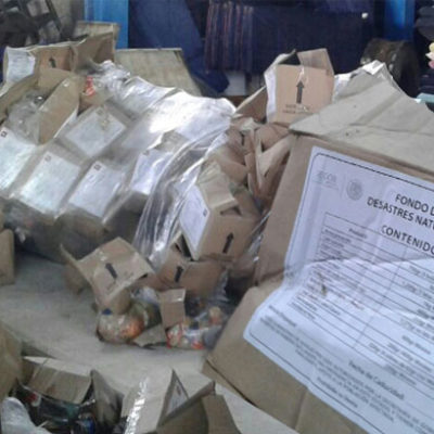 Piden investigación contra responsables de las despensas 'podridas' en Chetumal