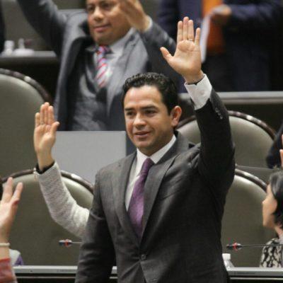 Respalda diputado federal por QR informe de Peña Nieto