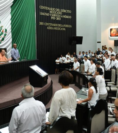 EN VIVO | SESIÓN EN EL CONGRESO POR EL INFORME DE BORGE: Cumplen con el protocolo sin la asistencia del Gobernador