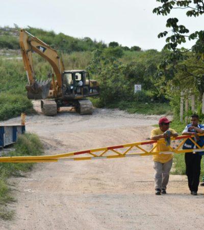 Ante crisis por la basura en Playa, amaga Alcalde con retirar concesión de relleno sanitario; empresa dice que nos les pagan