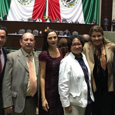 """Ante el escenario de recortes federales, van diputados federales por """"un óptimo presupuesto"""" para Quintana Roo"""