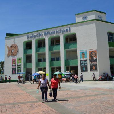 Levantan plantón burócratas del municipio de OPB