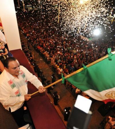'HUYE' BORGE DE CHETUMAL Y SE REFUGIA EN CANCÚN: Confirman que Gobernador desplazará a Paul y dará el Grito en la Plaza de la Reforma
